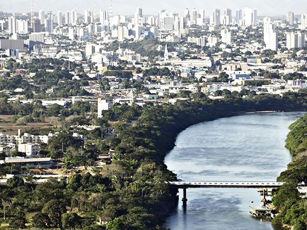 Cuiabá aérea (Foto: Leandro J. Nascimento/G1)