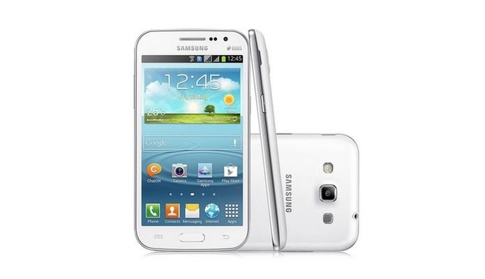 Galaxy Win Duos (Foto: Divulgação/Samsung) (Foto: Galaxy Win Duos (Foto: Divulgação/Samsung))
