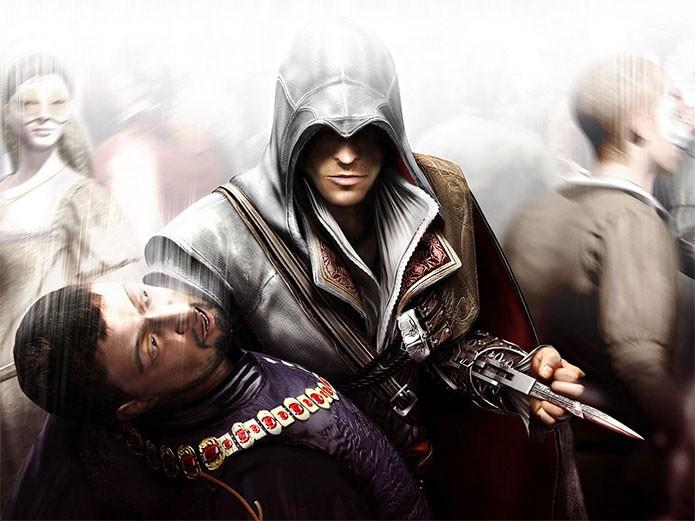 Ezio Auditore da Firenze em Assassins Creed 2 (Foto: Divulgação)