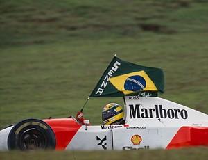 Ayrton Senna GP do Brasil de 1993 (Foto: Norio Koike/ASE)