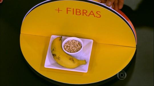 Alimentação rica em fibras ajuda no bom funcionamento do intestino