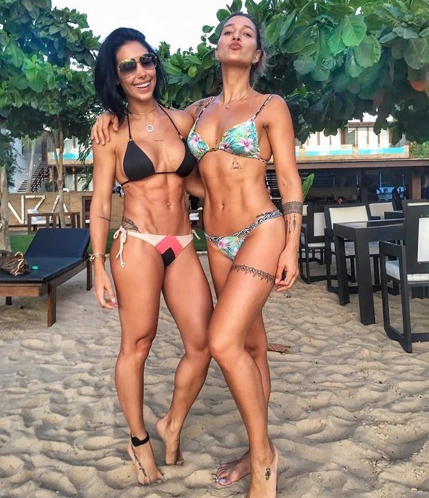 Bella Falconi e Gabriela Pugliesi (Foto: Reprodução/Instagram)