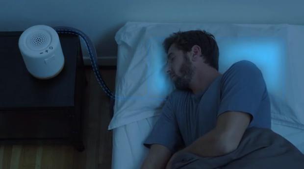 Travesseiro inteligente da Mooma (Foto: Reprodução/ Kickstarter)