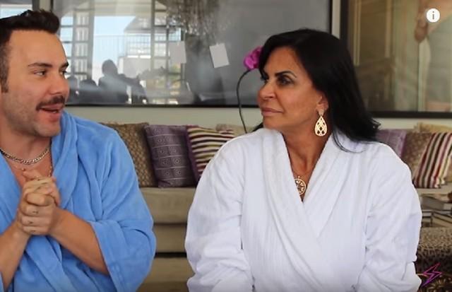 Matheus Mazzafera e Gretchen (Foto: Reprodução/ Youtube)