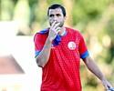 Com dores no tornozelo, Ronaldo Alves é ausência em treino do Náutico