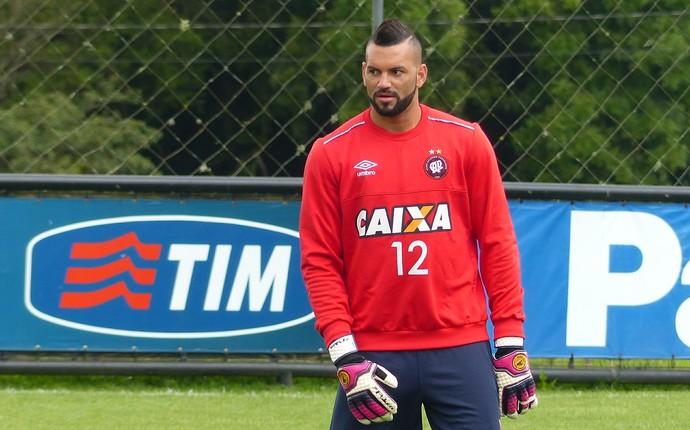 Weverton Atlético-PR (Foto: Monique Silva)