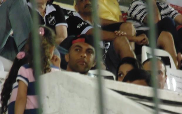 BLOG: Leandro Euzébio assiste a jogo em Natal; diretoria do ABC nega interesse