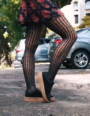 1 peça, x looks - meia calça