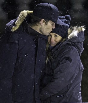 Gisele Bündchen e Tom Brady (Foto: Grosby Group)