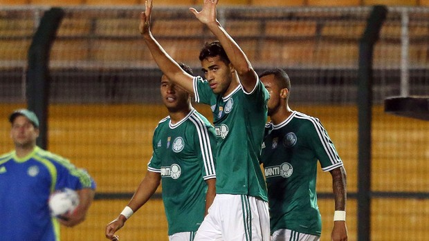 Alan Kardec gol Palmeiras x ASA (Foto: Alex Silva / Ag. Estado)