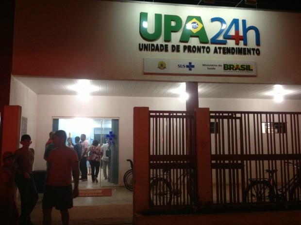 Confusão ocorreu na UPA da Zona Leste (Foto: Vanessa Vasconcelos/G1)
