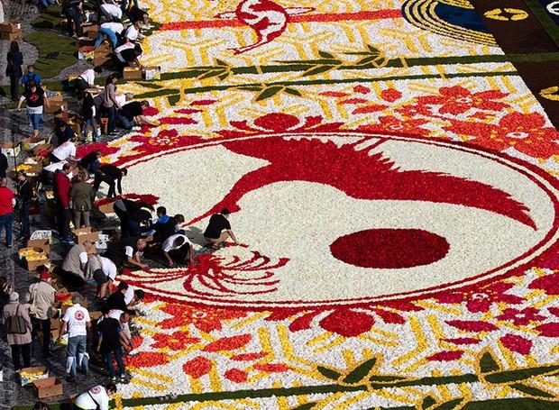 tapetes-de-flores (Foto: Divulgação)