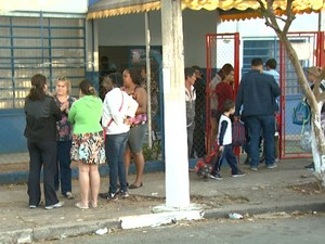 Creche em Campinas (SP) (Foto: Reprodução/ EPTV)
