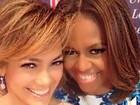 Jennifer Lopez participa de encontro com Michelle Obama, em Nova York