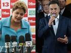 Dilma e Aécio se concentram com assessores em SP para debate na TV