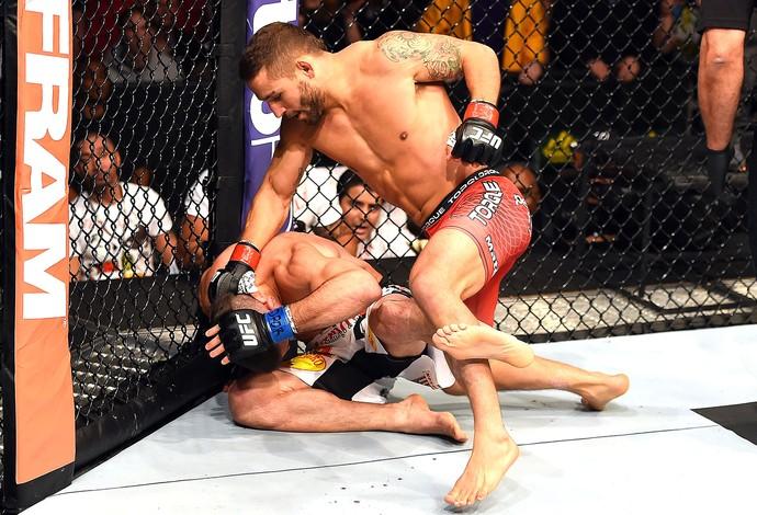Chad Mendes X Ricardo Lamas, UFC (Foto: Getty Images)