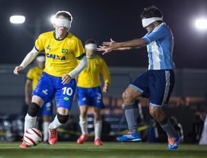 Ricardinho futebol de 5 brasil x argentina mundial (Foto: Marcio Rodrigues/CPB/MPIX)