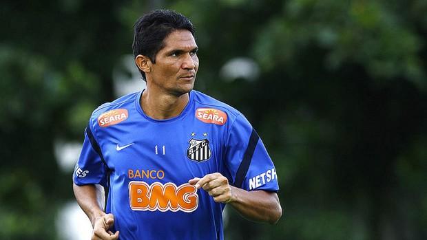 Durval, do Santos (Foto: divulgação/Santos FC)