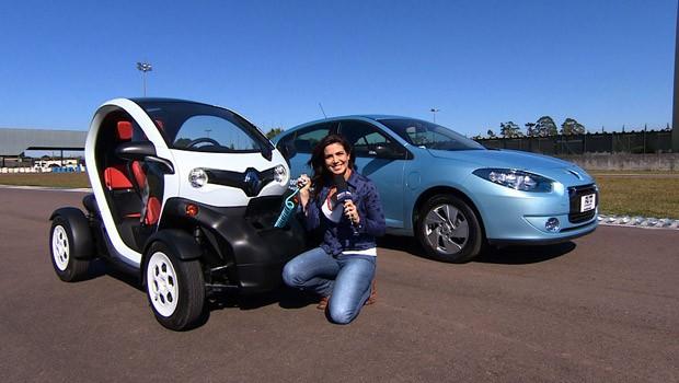 programa autoesporte carros elétricos (Foto: Reprodução/AutoEsporte TV)