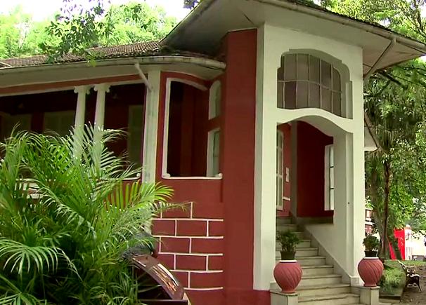 Instituto Histórico e Geográfico de São Vicente, Casa do Barão, será palco da encenação (Foto: Reprodução/TV Tribuna)