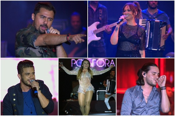 Encanta Ceará reúne grandes artistas da música cearense. (Foto: TV Verdes Mares)