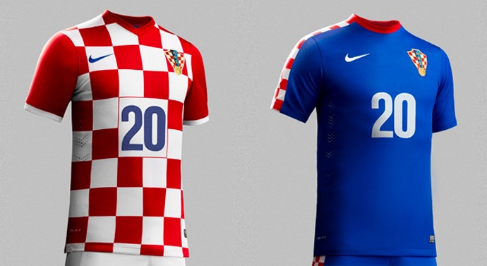 croacia camisa copa Every single World Cup kit (all 32 teams, home & away) on one page