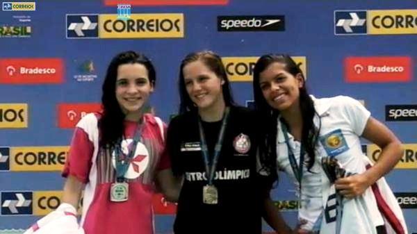 Sarah já conquistou dois bronzes no brasileiro infantil (Foto: Divulgação/Agitação)