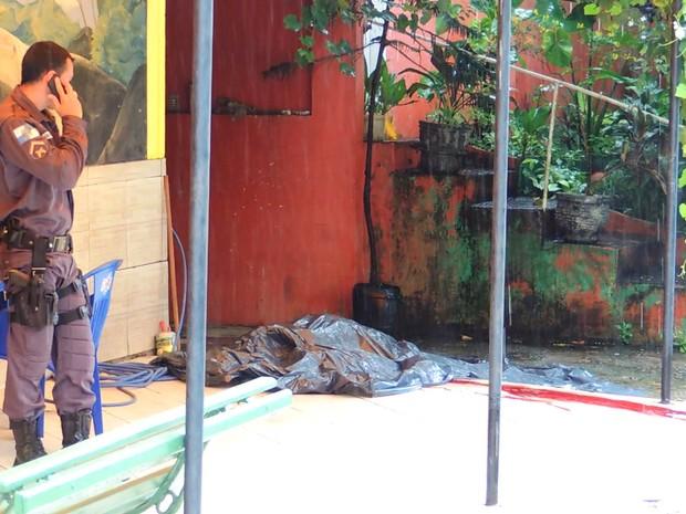 homem é assassinado em conceição de macabu (Foto: Pedro Folly/Arquivo)