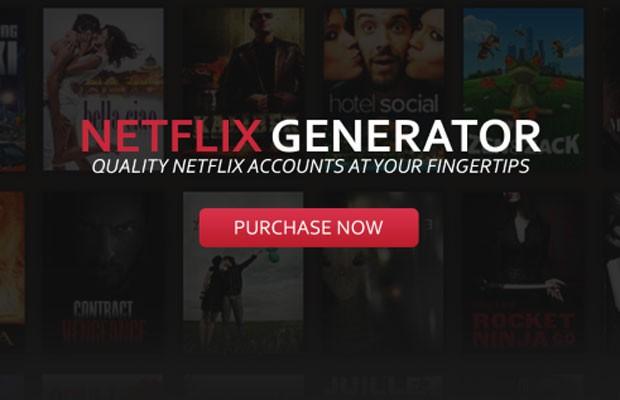 Netflix Gerador cria senhas para acesso ao serviço de streaming de vídeo. (Foto: Divulgação/Symantec)