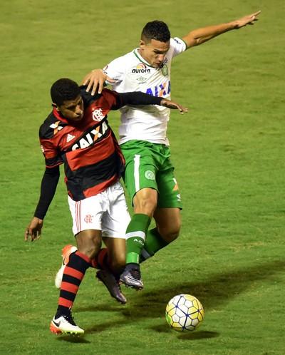 Márcio Araújo  Flamengo Volta Redonda Chapecoense (Foto: André Durão)