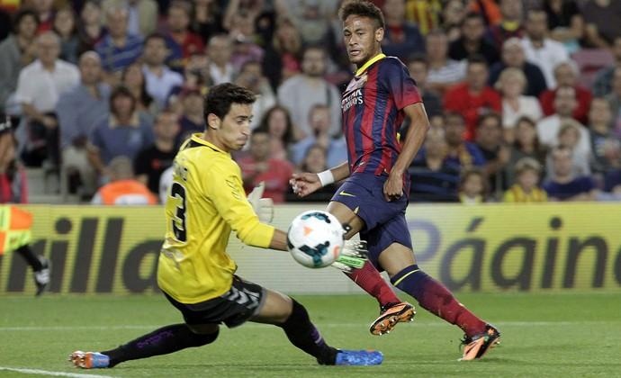 Neymar Barcelona x Valladolid (Foto: EFE)