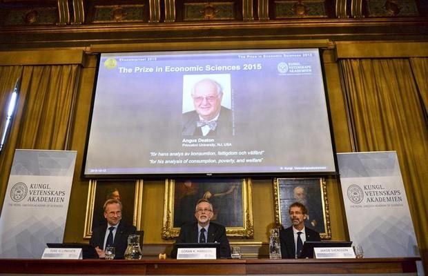 Angus Deaton vence o Nobel de Economia 2015 (Foto: EFE)