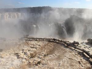 No primeiro semestre de 2015, o Parque Nacional do Iguaçu já havia recebido mais de 755 mil visitantes (Foto: Cataratas do Iguaçu S.A. / Divulgação)