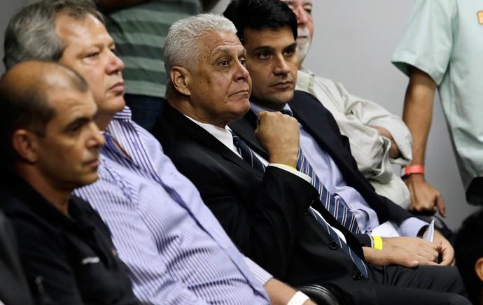 Roberto Dinamite presidente Vasco julgamento STJD (Foto: Wilton Junior/Agência Estado)