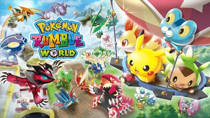 Pokémon Rumble World chega ao 3DS (Foto: Divulgação/Nintendo)