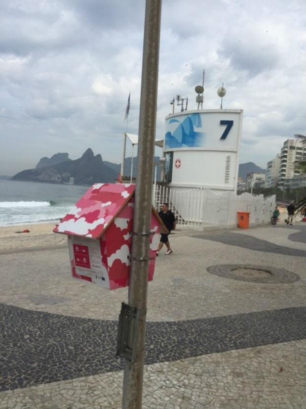 Leitura de graa pelo Rio de Janeiro  (Foto: Reproduo 40 Forever)