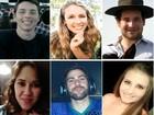 Veja o perfil das vítimas da casa noturna (Montagem de fotos de Arquivo Pessoal)