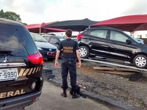 Operação combate fraudes em financiamento de veículos (Foto: PF/Divulgação)