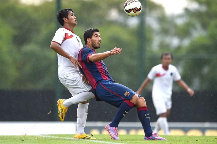 Luis Suarez pelo Barcelona (Foto: Getty Images)
