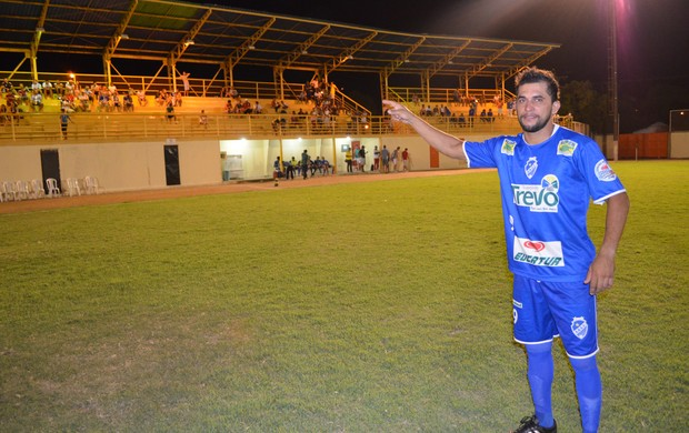 Stanley é dúvida do São Raimundo (RR) contra o Paysandu (PA) (Foto: Rodrigo Litaiff)