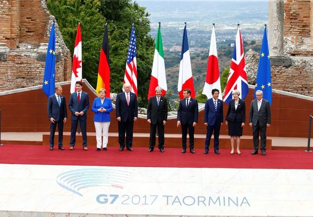 Reunidos na Itália, líderes do G7 reforçam compromisso de combater terrorismo