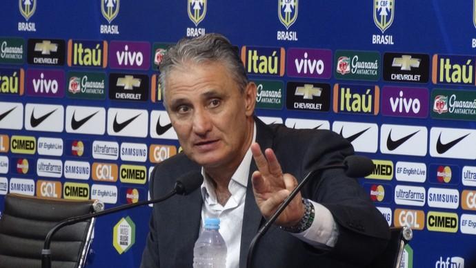 Tite, técnico do Brasil (Foto: Rafael Araújo)