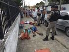 Grupo detido na PB tenta assaltar mulher e é seguido por policial civil