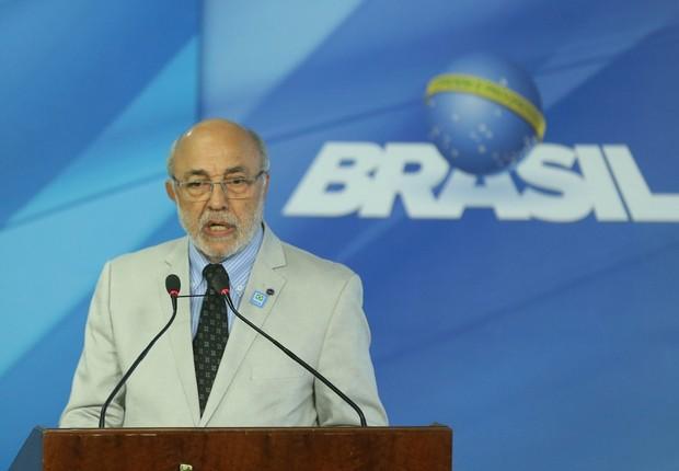 O ministro interino da Cultura, João Batista de Adnrade (PPS) (Foto: Valter Campanato/Agência Brasil)