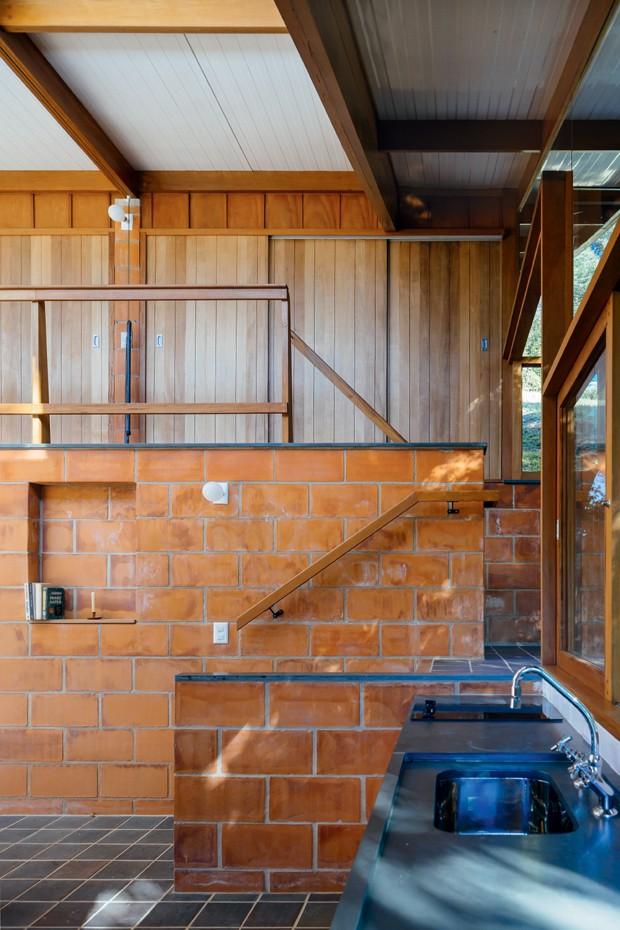arquitetura-casa-madeira-vidro-natureza (Foto: Pedro Kok/Divulgação)