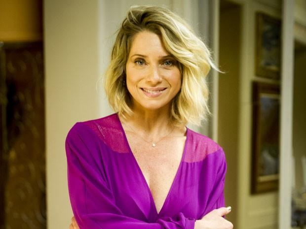 Spiller será Soraya Brenner, mulher rica e gananciosa da sociedade pauslitana (Foto: Globo/João Miguel Júnior)