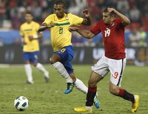 Fernandinho, Brasil x Egito (Foto: Mowa Press)