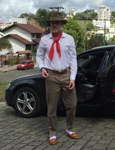 Antônio Carlos Zago técnico Juventude gaúcho pilcha (Foto: Divulgação / Juventude)