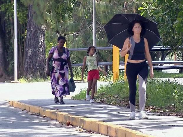 Sul de Minas tem um dos maiores índices de raios ultravioleta do país (Foto: Reprodução EPTV / Edson de Oliveira)