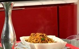 Receita: aprenda a fazer um delicioso arroz Maria Isabel